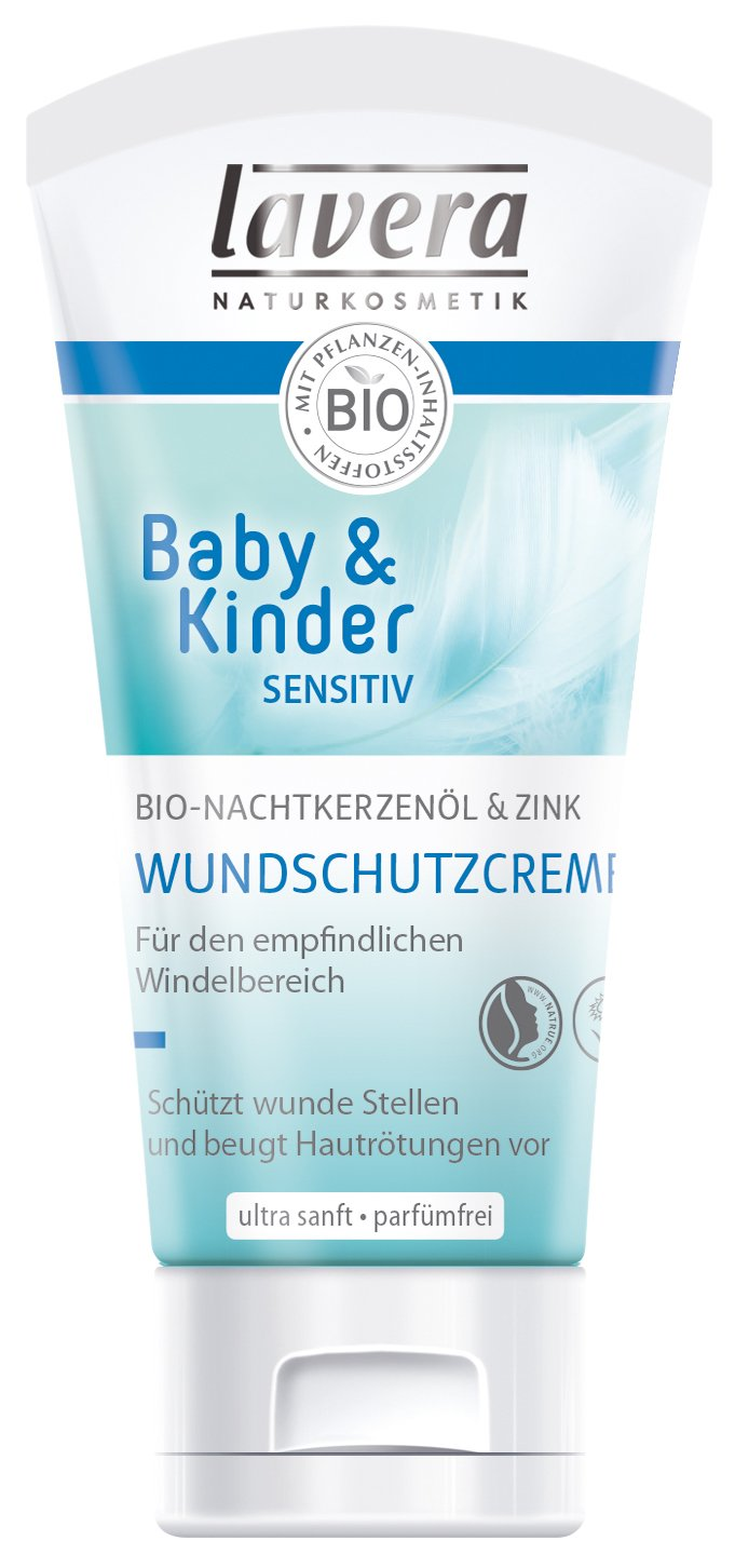 LAVERA Baby & Kinder sensitiv Wundschutzcreme 50 ml Creme LAVERANA GMBH & Co. KG