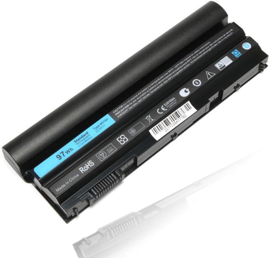 11.1V 97WH New Laptop Battery for Dell E6520 E6420 E6430 E6440 E5530 E5520 T54FJ HCJWT 312-1163 7FJ92 9CELL