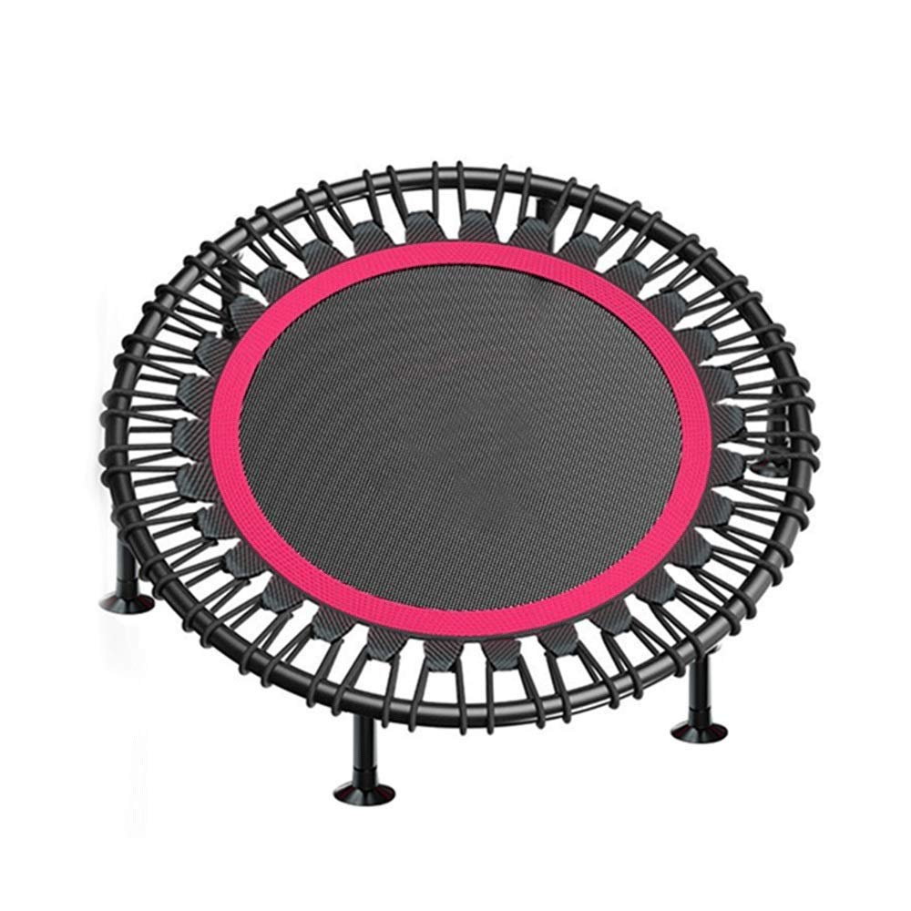 黒のフィットネスバウンスバウンスベッド弾性ロープ屋内庭最大荷重250 Kg(サイズ:48インチ/ 122 cm)