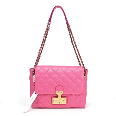 9197dd6650e Amazon.com: Marc Jacobs Baroque Quilted The Large Single Shoulder Bag,  Fuchsia: Shoes