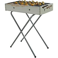 Fabrilla Charcoal Barbeque Grill Set (Silver)