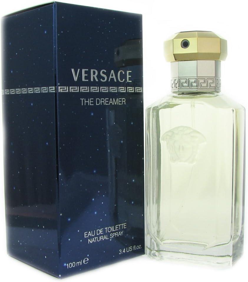 Gianni Versace Dreamer Eau de Toilette Spray for Men, 3.4 Fluid Ounce