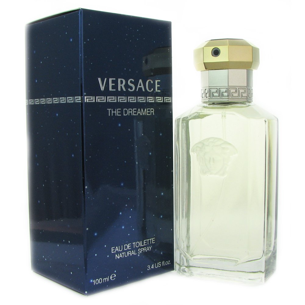 Amazon.com   Dreamer By Versace 3.4 oz Eau De Toilette Spray for Men    Versace Cologne   Beauty 3bb62b941061