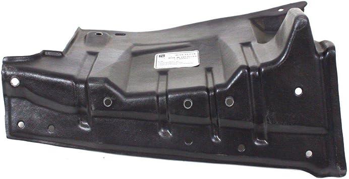 New Front Left Driver Side Engine Splash Shield Under Cover For 2008-2017 Mitsubishi Lancer And 2007-2013 Mitsubishi Outlander MI1228116