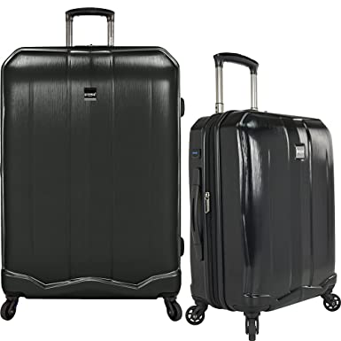 Amazon.com | U.S Travelers Piazza 2-Piece Lightweight Expandable ...
