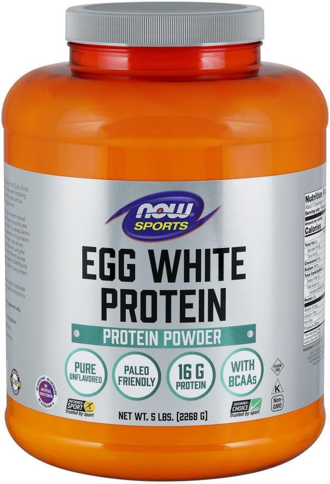 NOW Foods - AHORA Polvo de proteína de huevo blanco de ...