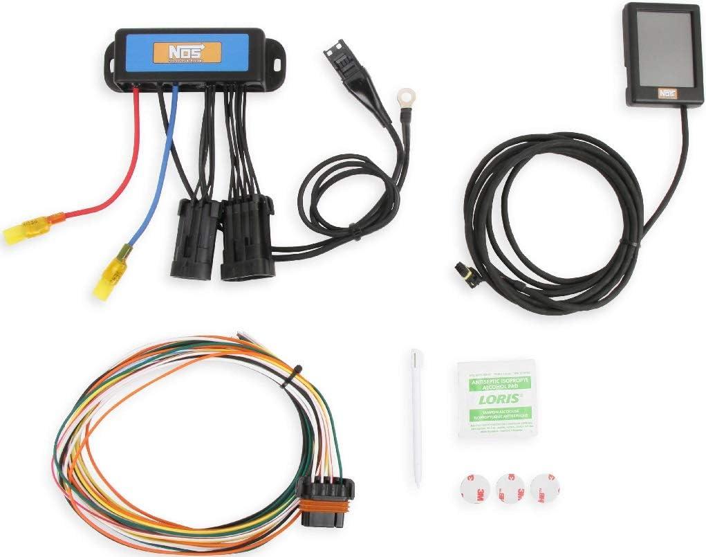 Amazon.com: BRAND NEW NOS MINI 2-STAGE PROGRESSIVE NITROUS CONTROLLER WITH  TOUCH SCREEN PROGRAMMER,0-9.9 SECONDS PROGRESSIVE TIME: Automotive | Two Stage Nitrous Wiring Diagram |  | Amazon.com