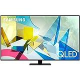 SAMSUNG 55-inch Class QLED Q80T Series - 4K UHD Direct Full Array 12X Quantum HDR 12X Smart TV with Alexa Built-in…