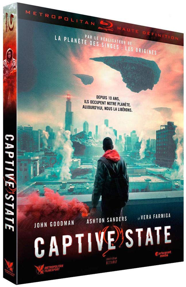 blu-ray du film captive state