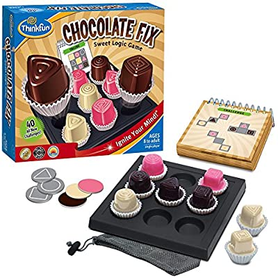 ThinkFun Chocolate Fix - Award Winning Logic Game and STEM Toy For Age 8 and Up: Toys & Games
