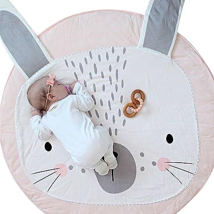 kuuboo Kids Play Mat Bebé Kids – Manta para gatear bebé antideslizante tapete de juego alfombra