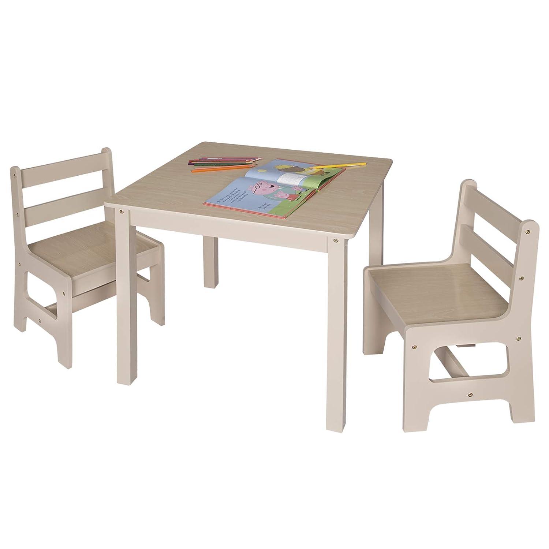 Esituro Tavolino E Sedie Per Bambini Tavolo Da Gioco In Legno Mobili Bambini Scts0001 Cameretta Ragazzi Agoraguiers Arredamento