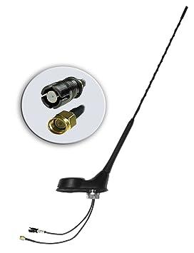 9021r # Tejado Antena de Coche con Base de Antena para AM/FM &