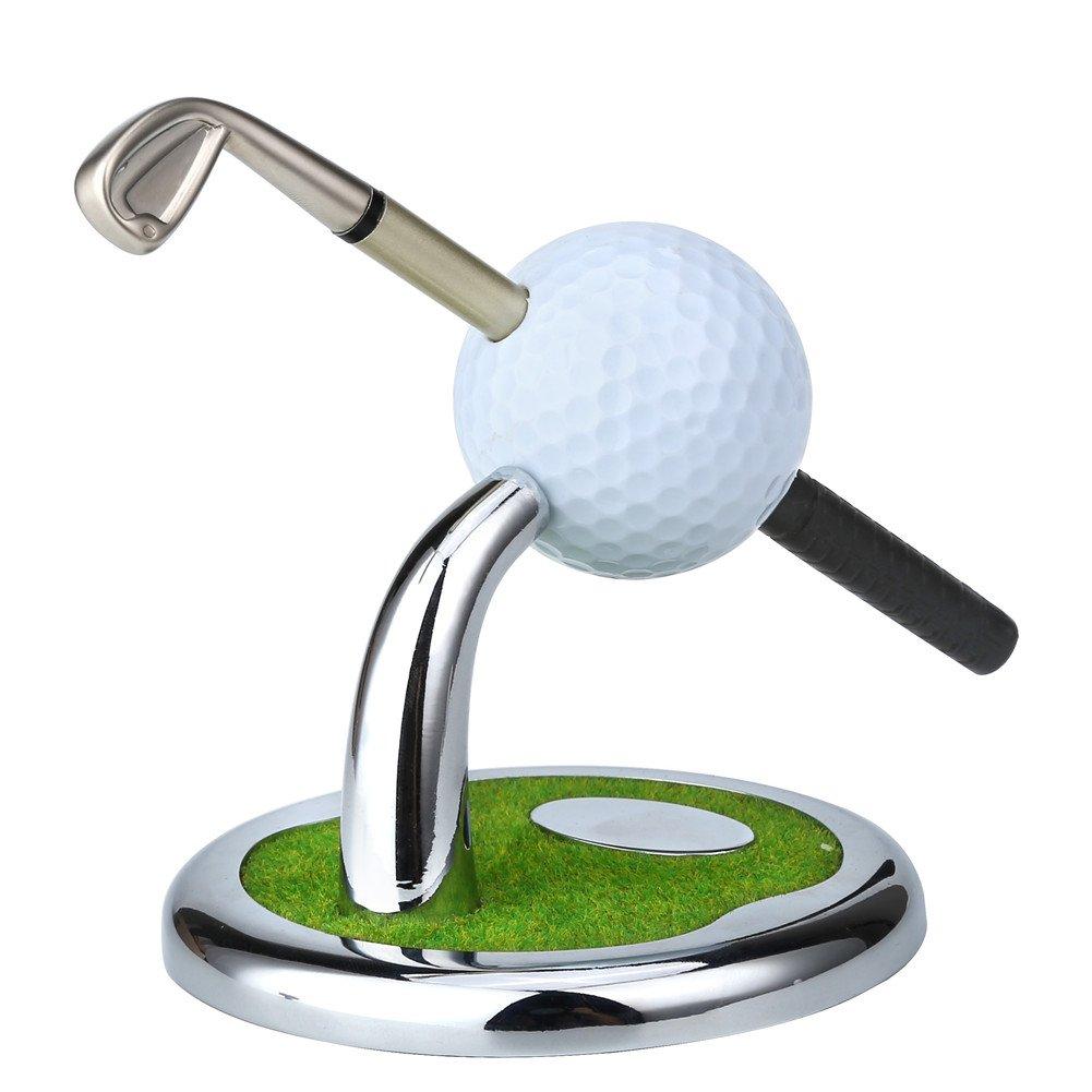 Regalos de Golf soporte para bolígrafo con 3 bolígrafos ...