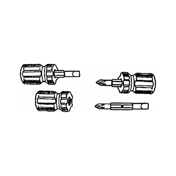 Stubby Screwdrivers Pack Of 2 Buy One Pack Get Another Pack FREE New
