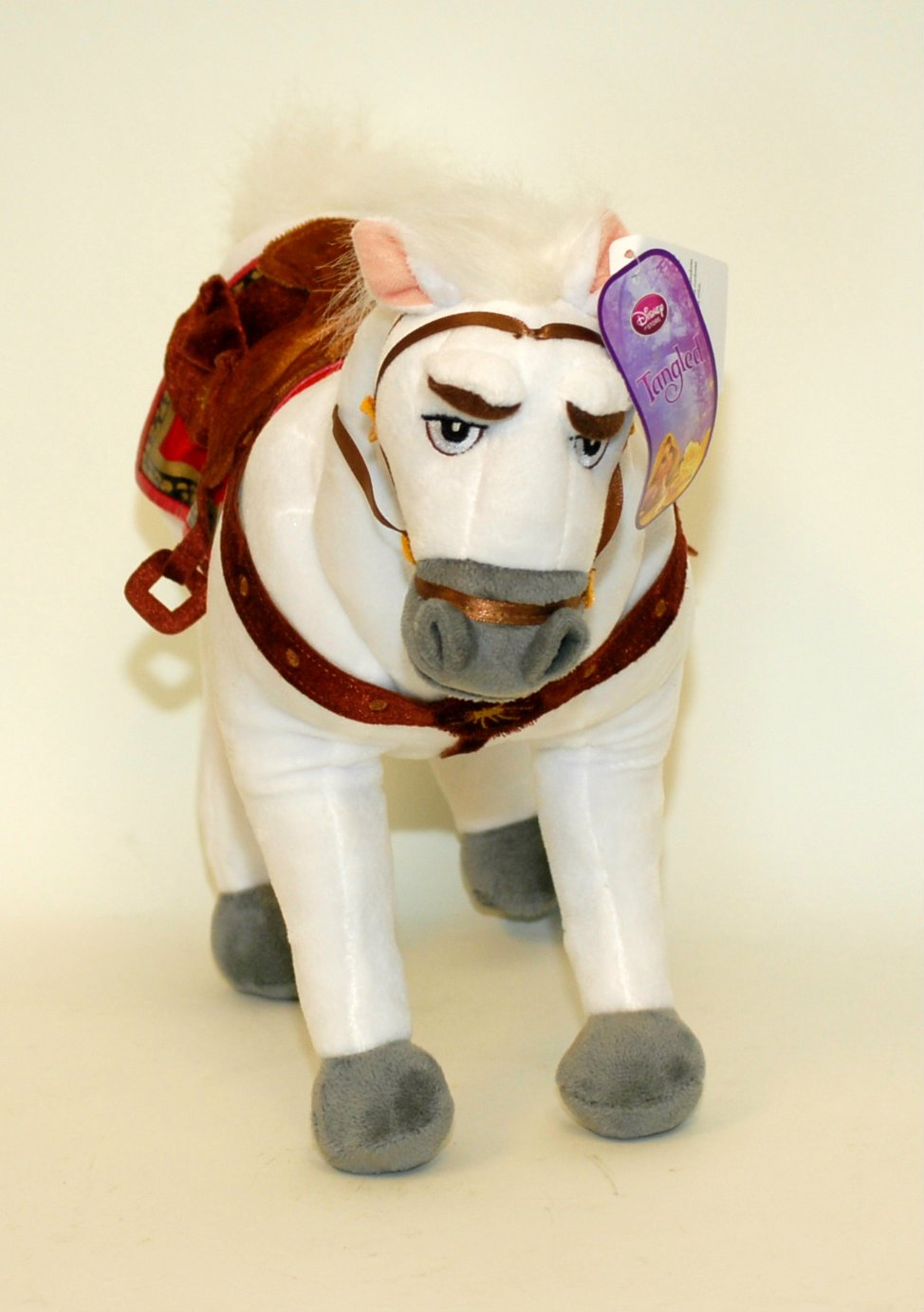 Amazon.com: Disney, Tangled Maximus Horse Plush soft doll Toy - 16: Toys & Games