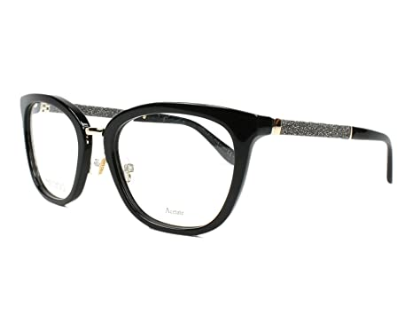 8965a85cff2 JIMMY CHOO Eyeglasses 165 0FA3 Black at Amazon Women s Clothing store