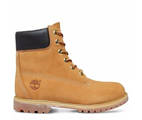 Timberland 6 In Premium Waterproof (Wide Fit), Botas Clasicas para Mujer