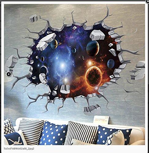 ALL 3D Tridimensional Pegatinas De Pared Star Dormitorio ...