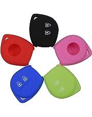 Kutery 2 Button Remote Silicone Car Key Case Fob Protect Cover for Mazda Suzuki SX4 Swift Vitara Car Styling