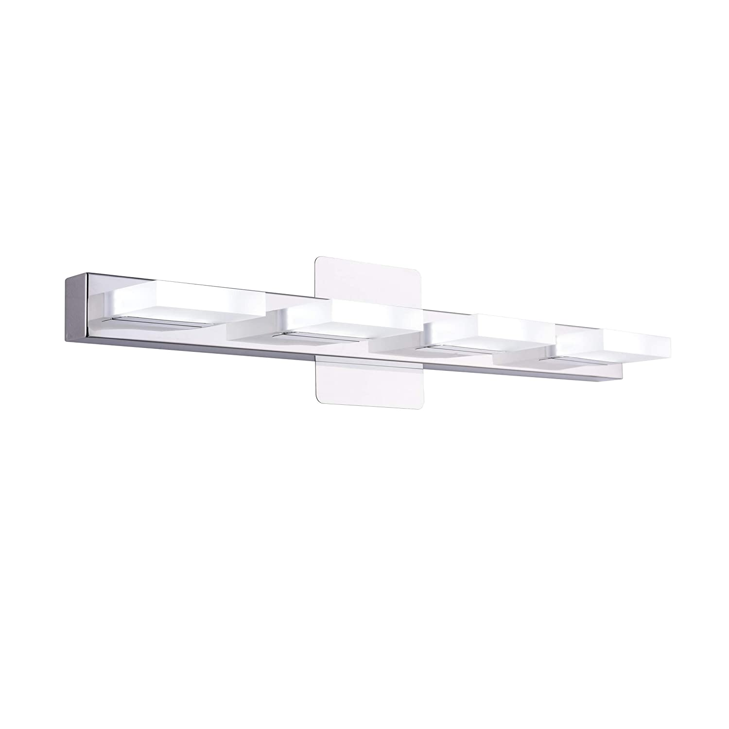 Nuvo 60 298 36-Inch Six Light Vanity Strip, Polished Chrome