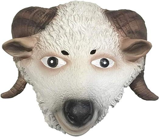 HX Máscara de Cabeza de Animal Máscara De Cabeza De Animal De ...
