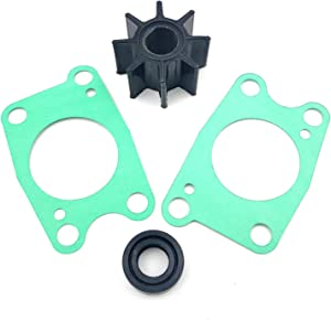 06192-ZV1-C00 Water Pump Impeller Service Kit Replacement for Honda Marine 4-5-6 HP BF4A BF6A BF5A BF5 4 Stroke Boat Motor Parts Sierra 18-3278