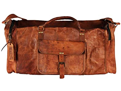cd0e957450 Amazon.com  Hell Blues  Genuine Leather Weekender 24 inch Travel ...
