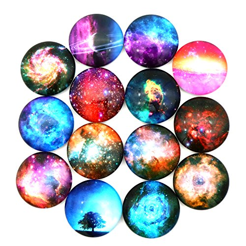 HXDZFX Refrigerator Magnets Fridge Magnets Funny Magnets for Refrigerator Office Cabinets Whiteboards Photo, Starry Sky Decorative - 14PCS
