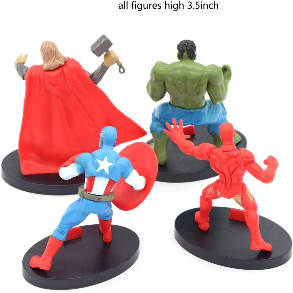 Amazon.com: The Vengers Cake Topper Thor Capitán América ...