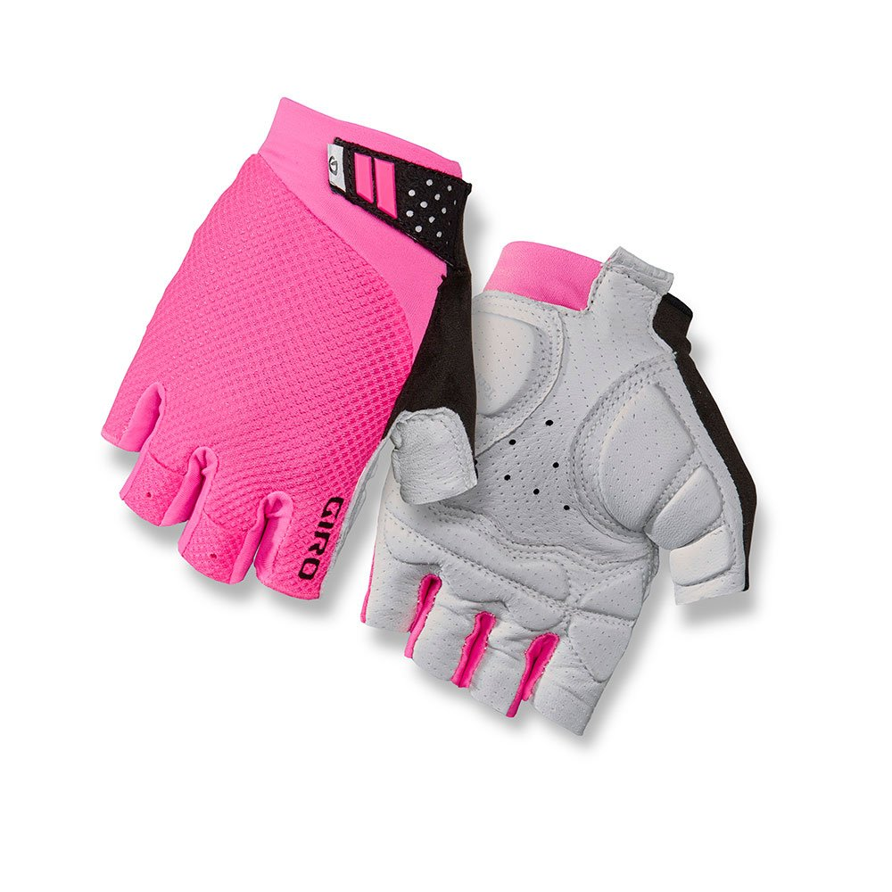 Giro Monica II Gel Womens Cycling Gloves Bright Pink Small