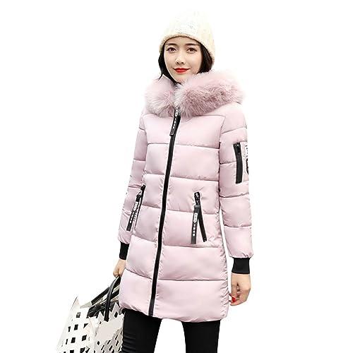 WanYang Mujer Abrigo Chaqueta De Invierno Rompevientos Chaquetas De Espesado Abrigo