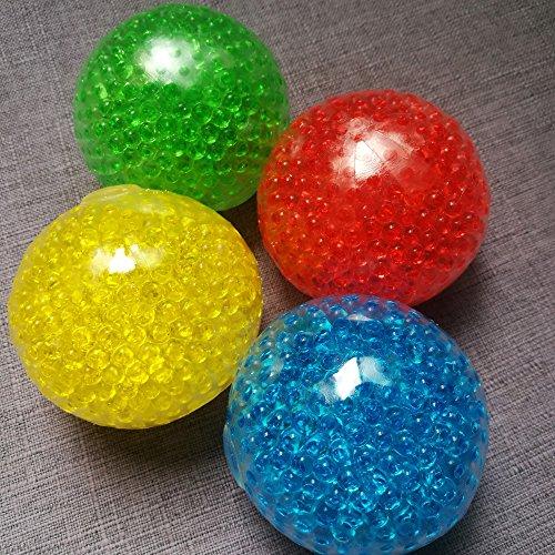 Big Spongy Squishy Gel Bead Anti Stress Ball Funny Fidget Sensory Toy Antistress oyuncak ()
