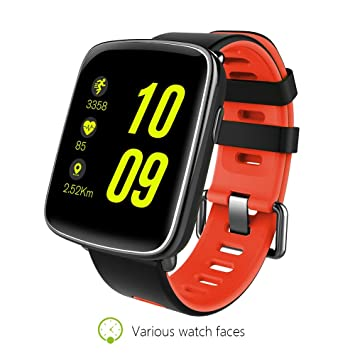 Amazon.com: Bluetooth Smart Watch for Android Samsung iOS ...