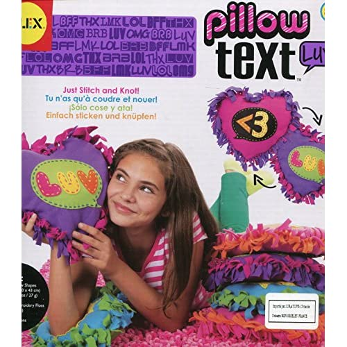 New ALEX Toys Craft Pillow Text - LUV hot sale