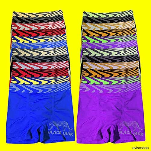 LikeEJay Best Mens Underwear Boxer Briefs Stretch Fashion Trunk Short Lot of 3,9pcs