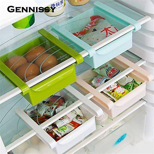 Generic Rosa: gennissy plástico Cocina Rack de Almacenamiento ...