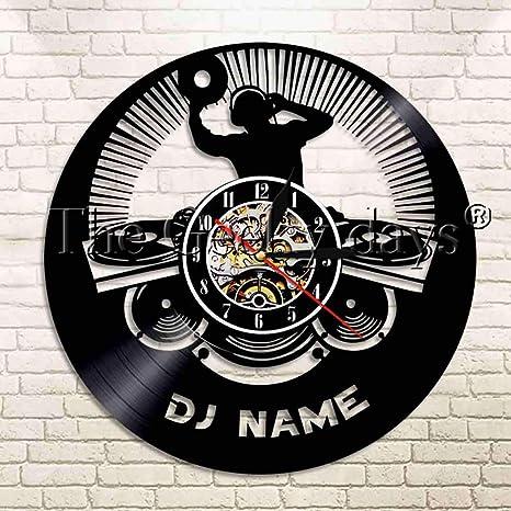 Compañía discográfica álbum álbum disco de vinilo reloj de pared ...
