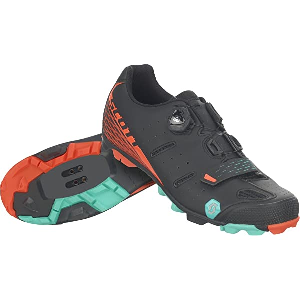 SCOTT 251837, Scarpe MTB Elite Boa Lady mt BKOrange 38.0