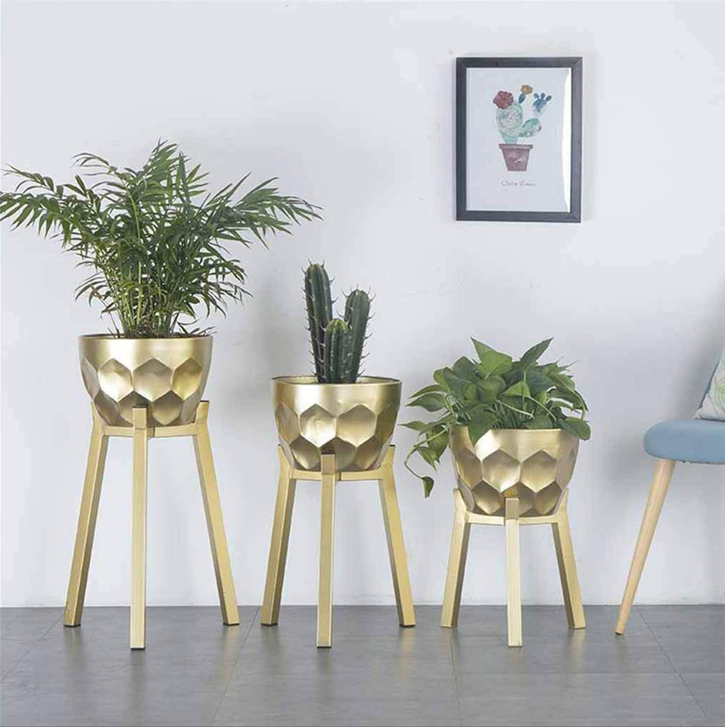 Flower Nórdico Art Stand Stands Iron Flor Pot Estilo lTF1cKJ3