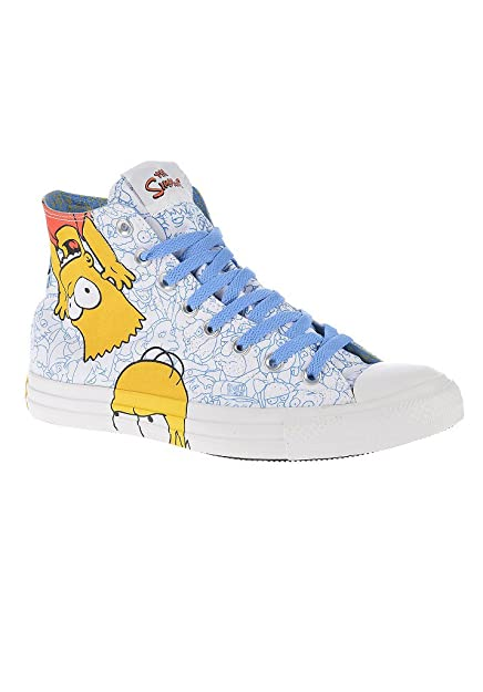 Converse Chucks Hi Can White 141391C AS Simpson Multi White