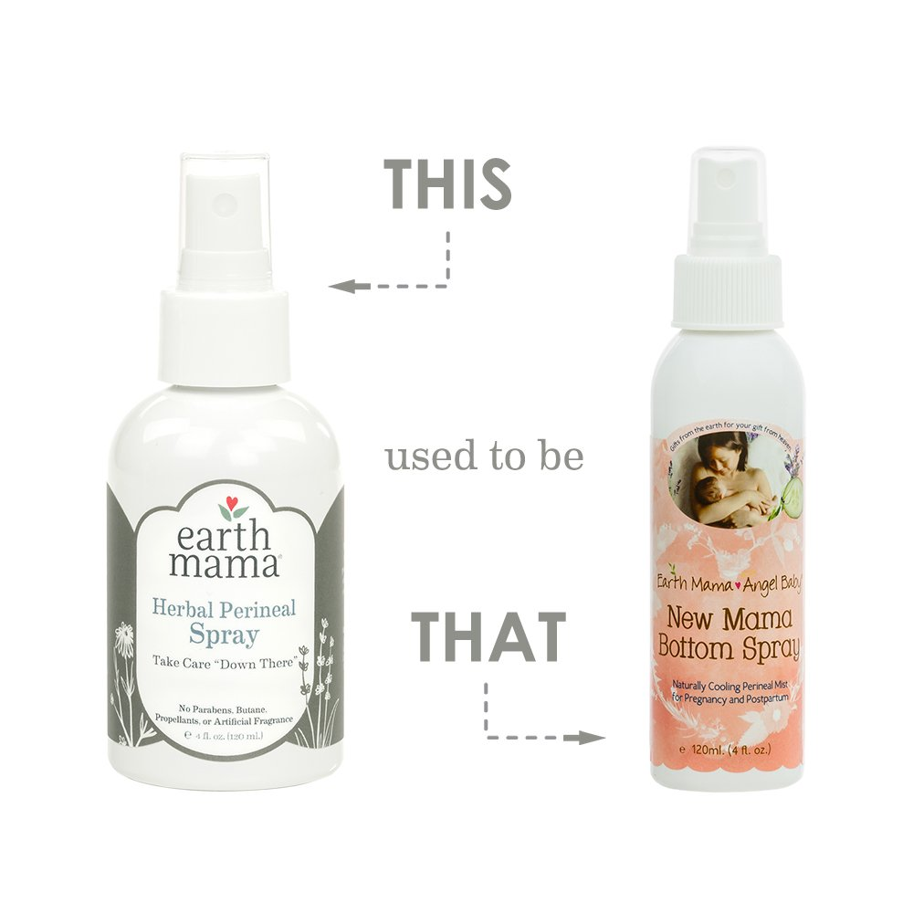 Earth Mama Herbal Perineal Spray for Pregnancy and Postpartum, 4-Fluid Ounce (2-Pack) by Earth Mama (Image #3)