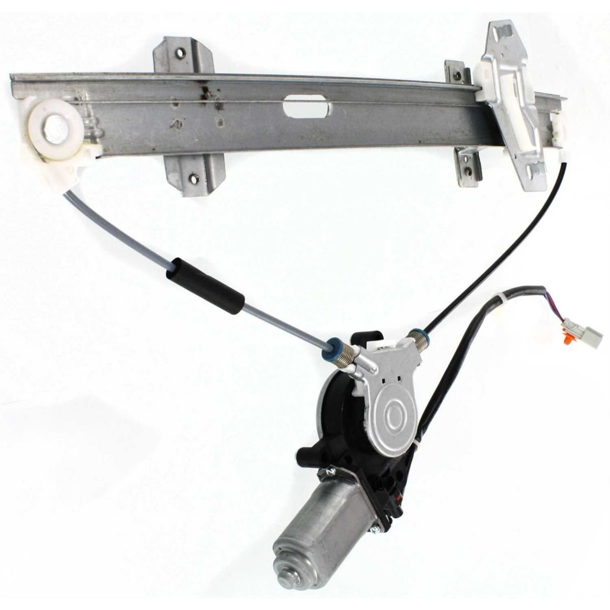 Diften 125-A0512-X01 - New Set of 2 Window Regulators Glass Left & Right Side Front with motor Pair by Diften
