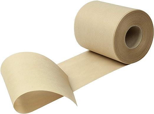 Rollo de tela no tejida para camino de mesa, téxtil, beige, Breite ...