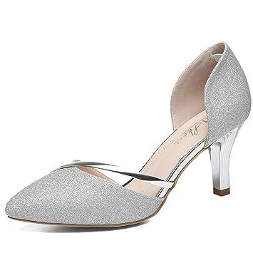 3b80d81bd6ffb Women's Pumps 2019 New Sexy Pointed Stiletto Shoes Fashion Ladies ...