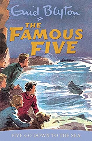 book cover of Five Go Down to the Sea