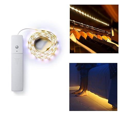 Gut bekannt LED Streifen mit Bewegungsmelder Batteriebetrieben 1m LED Strip EB19