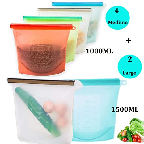 Bolsa de almacenamiento de alimentos de silicona ...