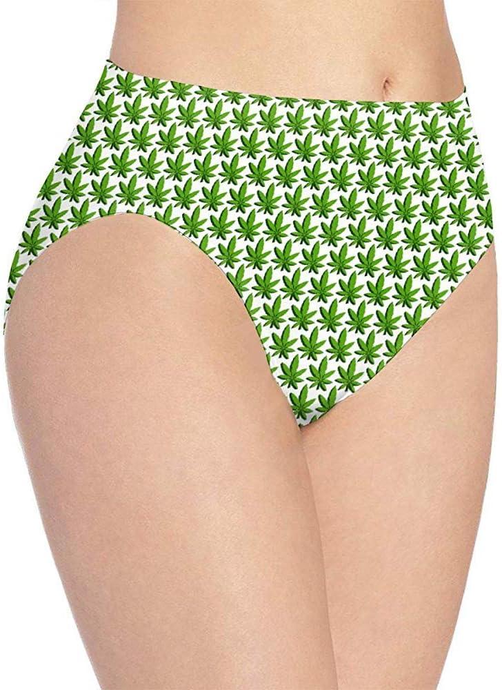 Adamitt Bragas Breves Hipster para Mujer Ropa Interior Tropical con Hojas de Malas Hierbas Ropa Interior elástica Suave: Amazon.es: Ropa y accesorios