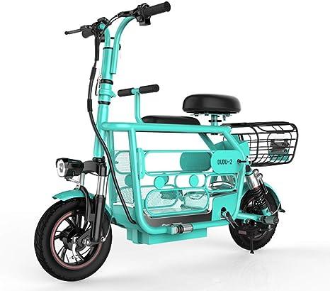Qnlly Bicicleta eléctrica Plegable 400W 48V Bicicleta eléctrica ...
